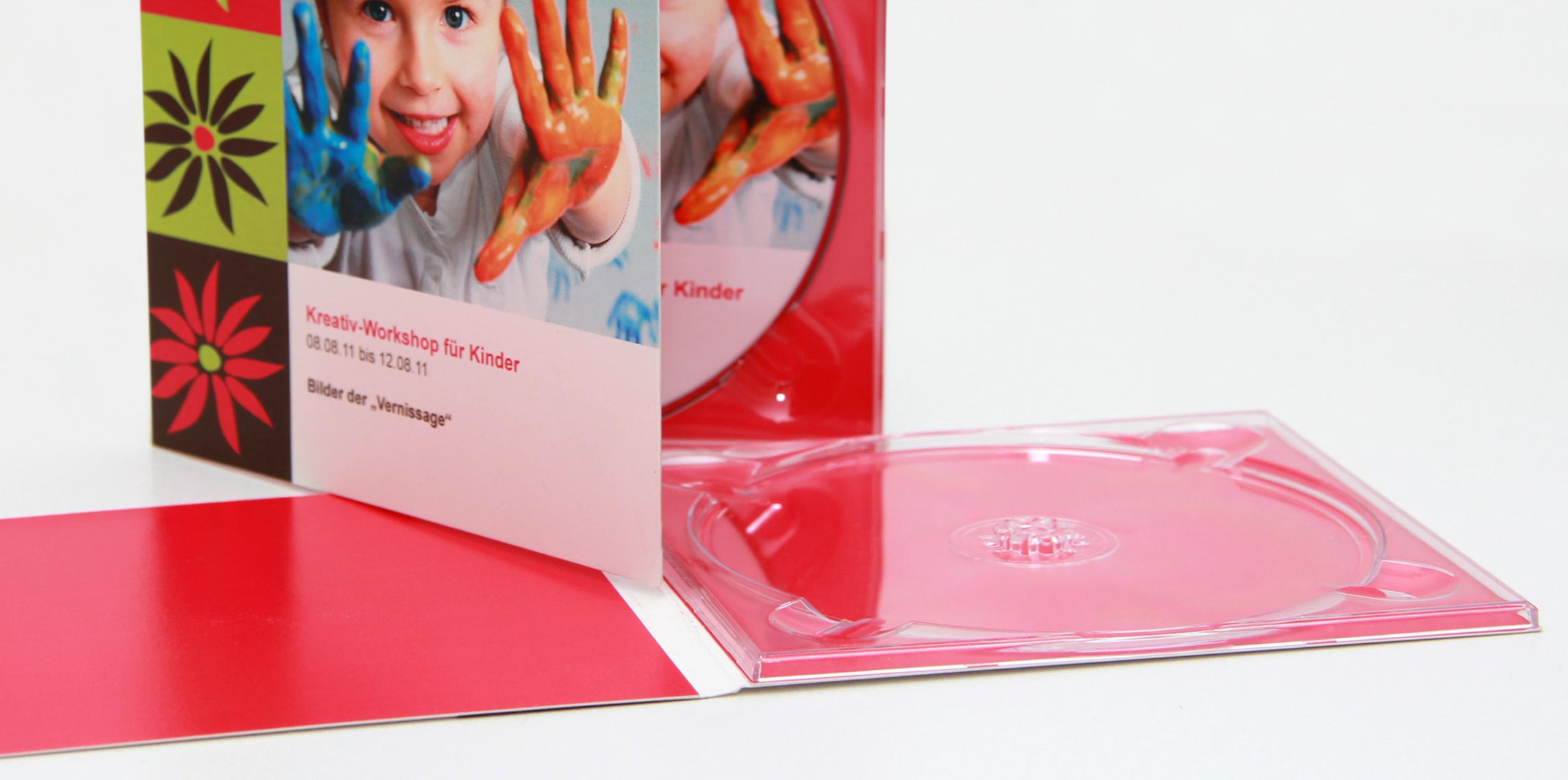 Schwarze CD-Aufnahme